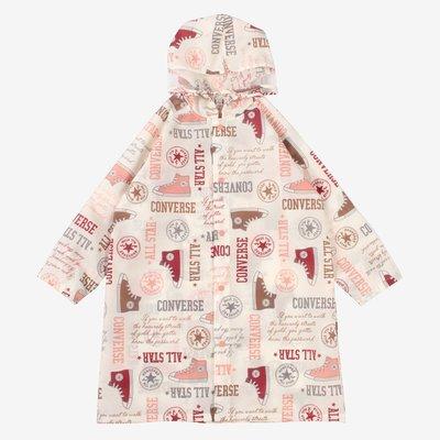 【Luxury】CONVERSE ALLSTAR LOGO KIDS RAINCOAT 雨衣 兒童雨衣 六色