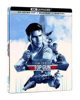 毛毛小舖--藍光BD 捍衛戰士 4K UHD+BD 雙碟限量鐵盒版 Top Gun 湯姆克魯斯
