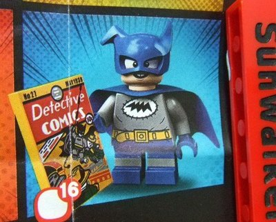 【積木1977】樂高 Lego 71026 (16)蝙蝠小子 Bat-Mite (全新未拆袋)(DC英雄人偶包)