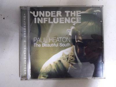 二手CD ~美麗南方合唱團成員Paul Heaton (*under the influence) 只聽一次,CD 無刮