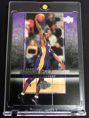 🐍2003-04 Upper Deck Rookie Exclusives #59 Kobe Bryant