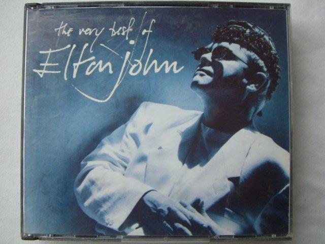 ※布箱子※二手原版CD~【The Very Best Of Elton John】艾爾頓強雙CD精選.加送風中之燭CD