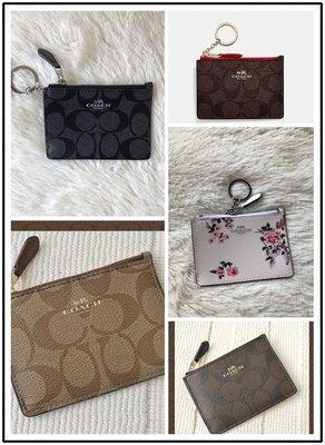 NaNa代購 COACH 16107 新款證件夾 卡包 搭配鑰匙扣 附購證