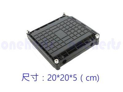 光纖接續包 W24FBL 2-24芯 防水光纖接續盒 小四方款 戶外型不銹鋼螺絲 二進二出臥式 24芯光纖盒 光纖熔接盒