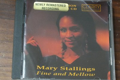 Clarity-Mary Stalling: fine and mellow-美版,有IFPI
