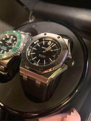 保證正品 AP 15710st 透背 一錶難求 漲幅空間大 盒單全在 原廠五年延保 歡迎驗貨