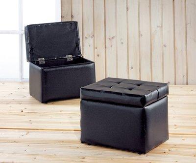 [歐瑞家具]YA333-8 掀蓋收納沙發椅(黑)/系統家具/沙發/床墊/茶几/高低櫃/床組/1元起/高品質/最低價