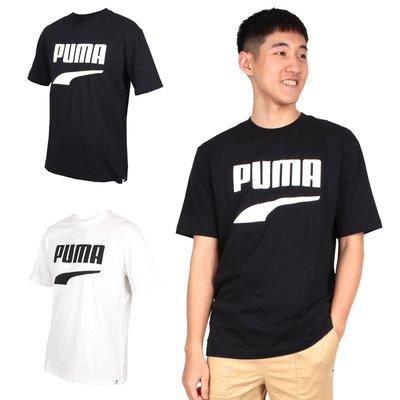 PUMA 男流行系列Down town圖樣短袖T恤(慢跑 路跑 短T【03312996】≡排汗專家≡