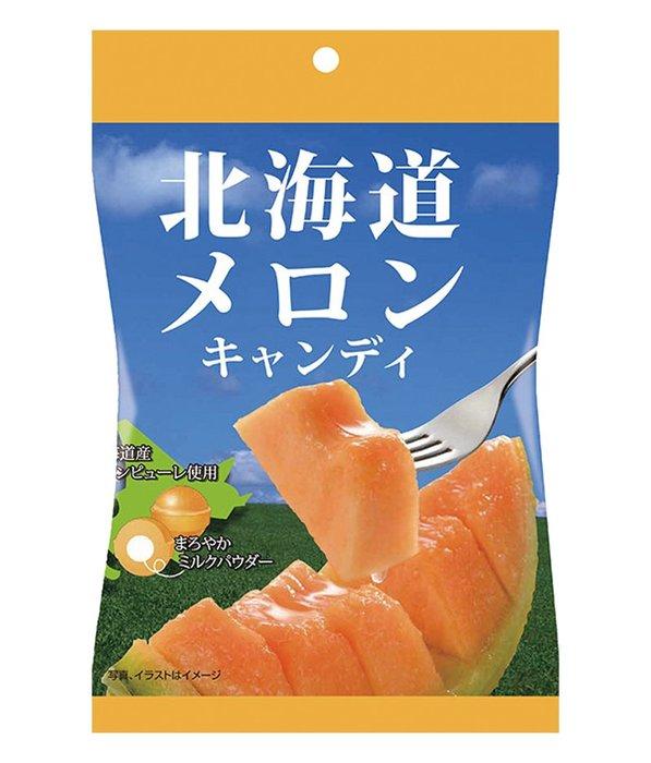 北海道 滋賀工場 哈密瓜夾心糖 日本進口零食 JUST GIRL
