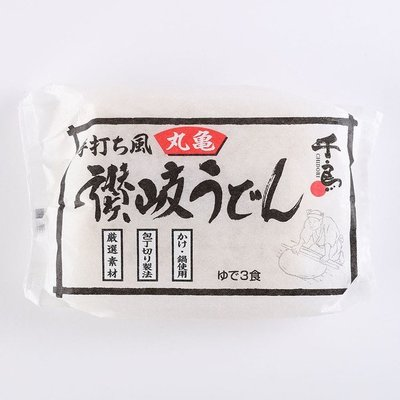 [日本進口]丸龜 3食手打讚岐烏龍麵450g