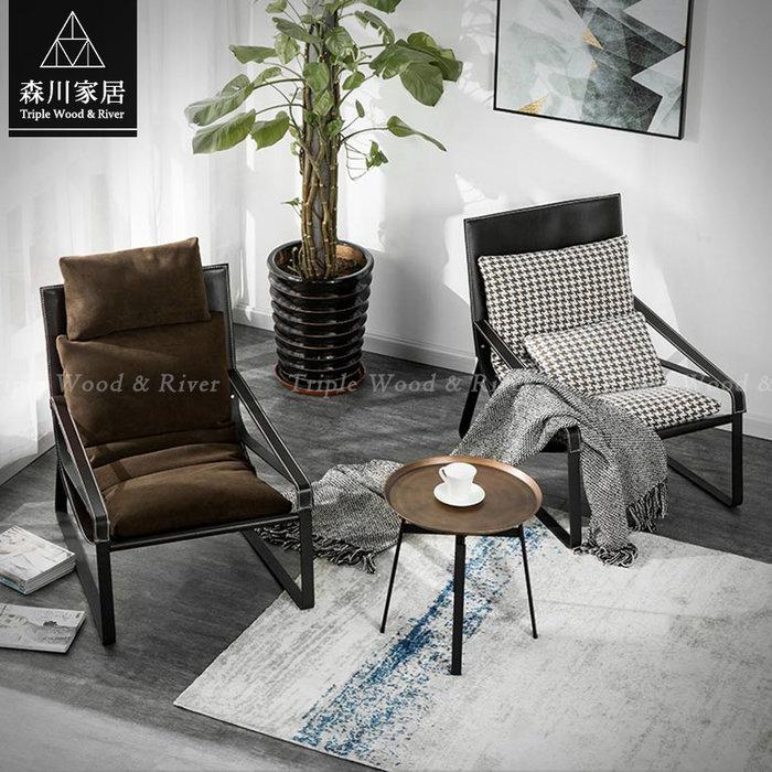 《森川家居》PLT-50LT13-現代設計古銅復古圓型茶几 客廳起居室桌椅/輕奢收納民宿餐廳/美式LOFT品東西IKEA