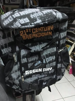 # GREEN DAY / BREAKDOWN BACKPACK 雙肩背包 5折