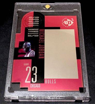 1997 UD3 Star Focus Michael Jordan (Hologram  Acetate Card ~ 超美~值得收藏)