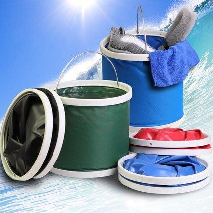 自駕游車帶蓋水桶被包折疊戶外洗漱儲水箱