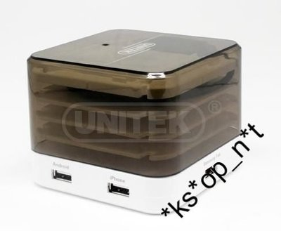 {MPower} Unitek Y-2162 4 Port USB 5V 6A charging station 火牛 充電器 充電座 - 原裝行貨