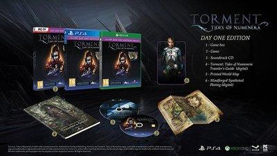 全新未拆 PS4 新異域鎮魂曲:遺器之潮(含4特典) 首日版英文版 Torment: Tides of Numenera