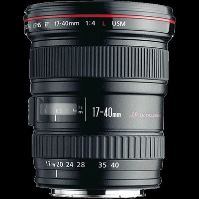 镜头Canon/佳能 EF 17-40mm f/4L USM 廣角變焦單反鏡頭風景人像17-40单反镜头