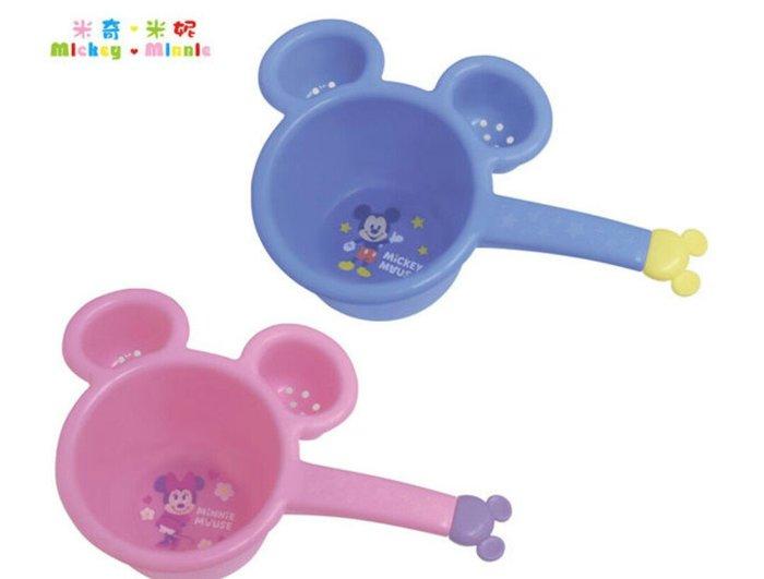 天使熊雜貨小舖~迪士尼米奇&米妮造型兒童水杓  現貨:藍/粉色2款  全新現貨