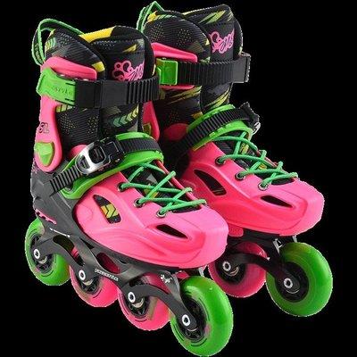 費斯輪滑鞋兒童滑冰鞋男女直排初學者專業旱冰鞋全套裝溜冰鞋兒童NMS