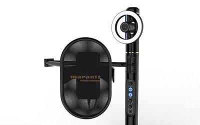凱傑樂器 Marantz Turret 三合一 直播系統 高畫質 攝影機 專業麥克風公司貨 可調式燈光