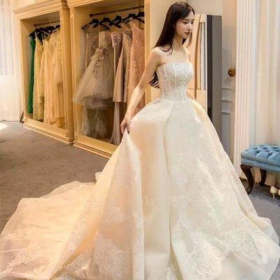 *全新~sasa婚紗禮服~完美修飾立體馬甲婚紗 白紗~