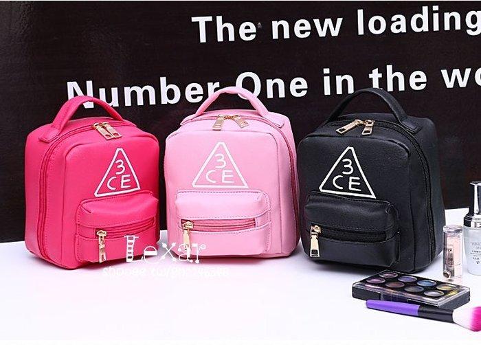 時尚手提化妝包韓國便攜化妝箱大容量收納包洗漱包化妝品包手拿包