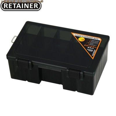 【直購】RETAINER瑞美拓 機器人零件收納盒 分類盒 LEGO收納盒防光線J5478