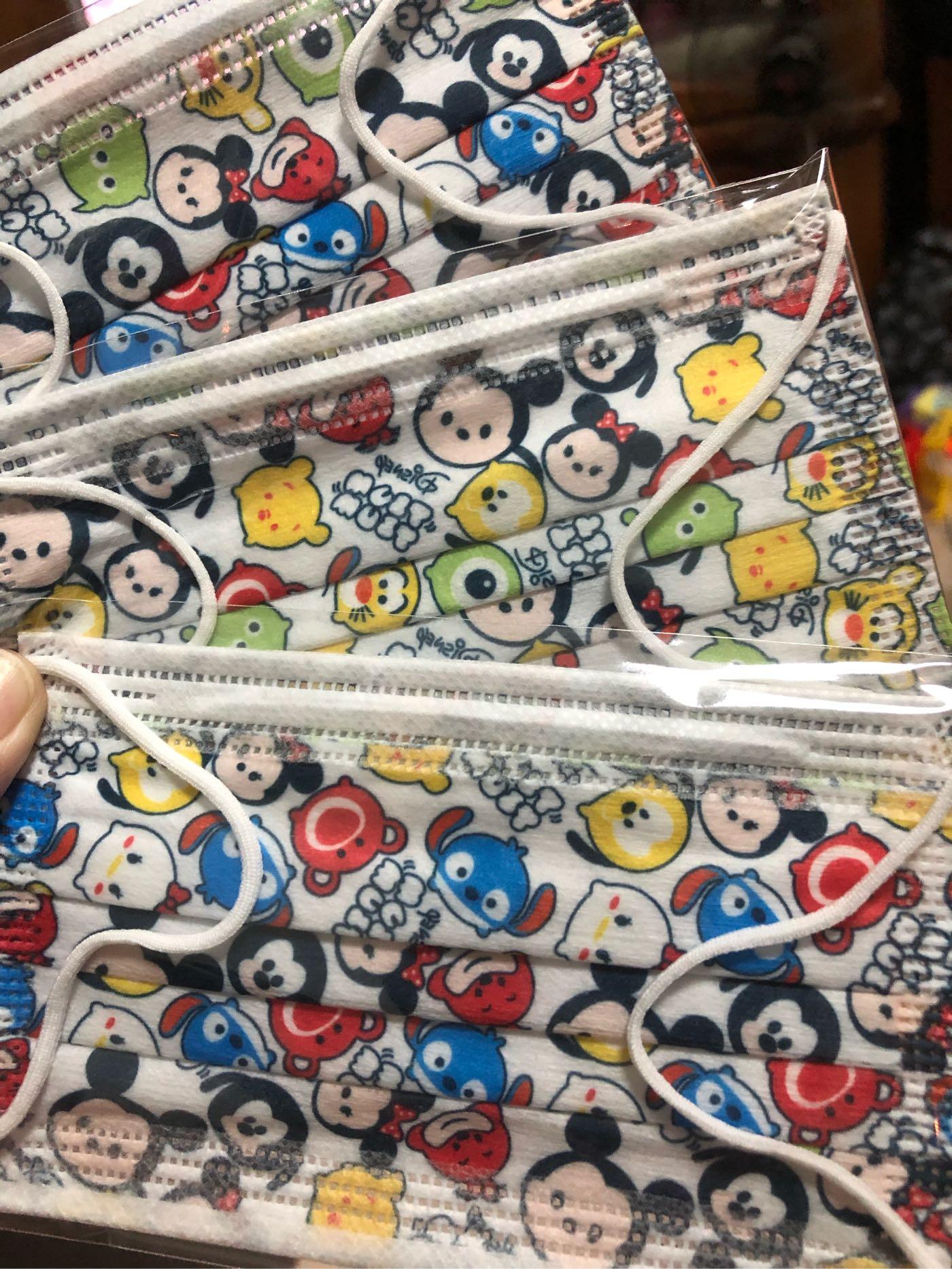 台灣現貨 特殊收藏兒童平面口罩 Q版迪士尼8片裝 (內含8片 Q版迪士尼)
