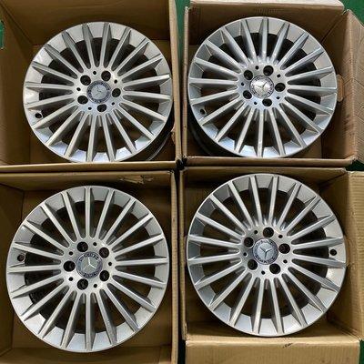 賓士 W205 17吋 原廠鋁圈 7J ET48.5 5x112 適用於w447 W211 W212 W213 W203 W204 W207 W176