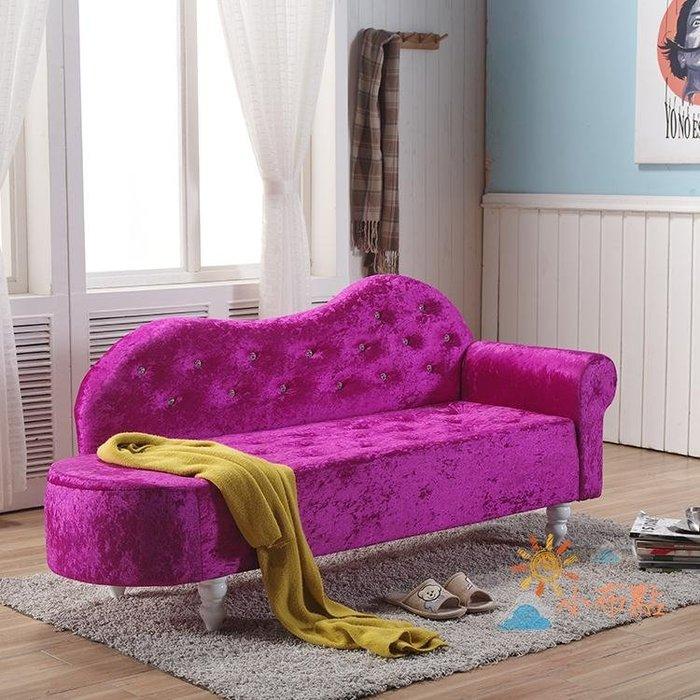 貴妃椅歐式貴妃椅懶人沙發臥室小沙發美人榻店鋪小沙發躺椅定制WY