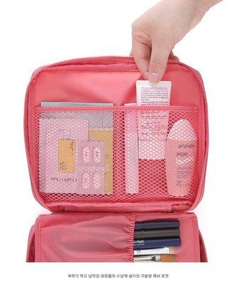 ~家家的店~ 第  防水 洗漱包 旅行收納組 化妝包 盥洗收納袋 收納包 飛機   可超取 ~粉紅 區~