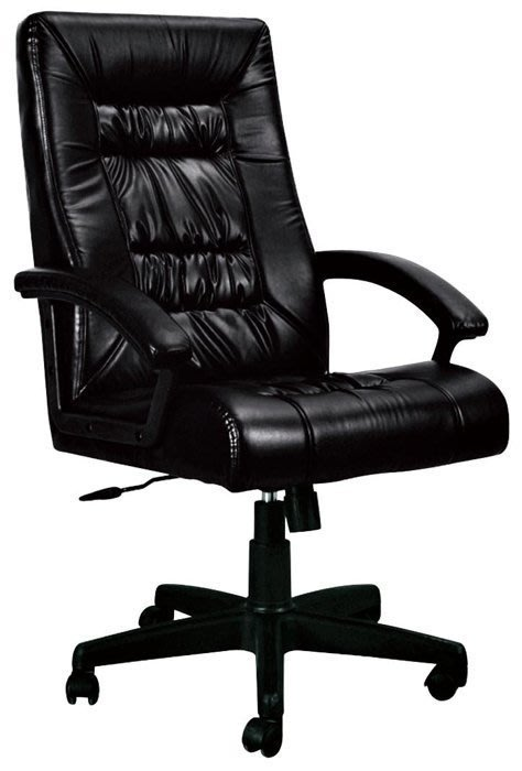 【DH】貨號CB274-2《銀河之星》黑皮革。電腦椅/辦公椅/人體功學椅˙舒適好坐˙新品特價