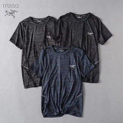 小祖鳥男款戶外運動健身跑步冰絲爽滑質感透氣圓領速幹短袖T恤