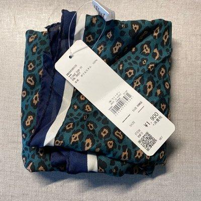 秋冬保暖日本Right on 造型絲巾 秋冬款 韓國製 經典豹紋