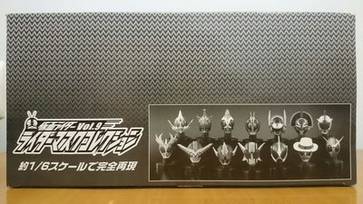 〈全新〉Kamen Rider Mask Collection (8個)