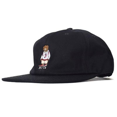 { POISON } INTERBREED P WING BEAR BALL CAP 日本頂級刺繡小熊棒球帽老帽 黑