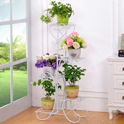 花架鐵藝多層客廳花架子室內陽台綠蘿花盆架子組裝盆栽架