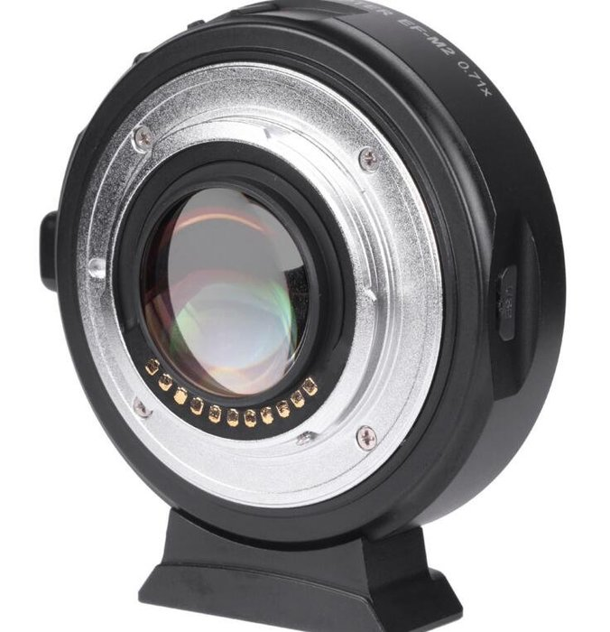 VILTROX EF-M2轉接環 佳能鏡頭 轉M43松下GH5奧林巴斯 可增大光圈 # 5045