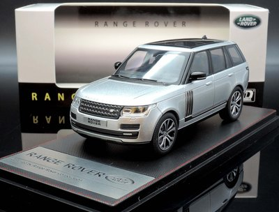【M.A.S.H】現貨瘋狂價 LCD 1/43 Range Rover SV Autobiography 銀