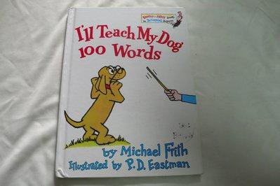 【彩虹小館】N6英文童書~I'll Teach My Dog 100 Words