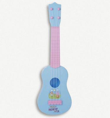 $90 Peppa pig acoustic guitar music toy 音樂結他玩具 (適合三歲以上)carol shop