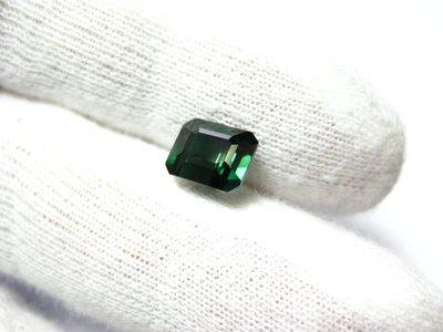 【Texture & Nobleness 低調與奢華】天然無處理 藍綠色碧璽 藍綠色電氣石 2克拉