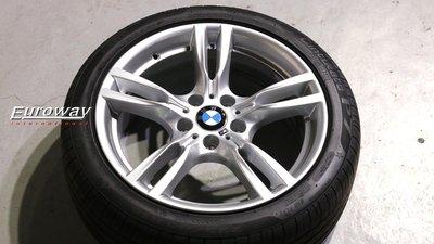 優路威 BMW 原廠400M 18吋前後配鋁圈 F30 F31 F32 X1 X3 M SPORT BBS STANCE