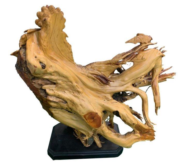 二手家具宏品 台中中古傢俱賣場 R10901*五福人生木雕藝術品*仿古家具 雕刻藝品買賣 檀木 檜木 柚木 樟木