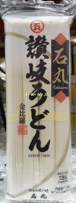 【小如的店】COSTCO好市多代購~日本進口 KONPIRA  金比羅 石丸讚岐細烏龍麵(400g*3入) 51850