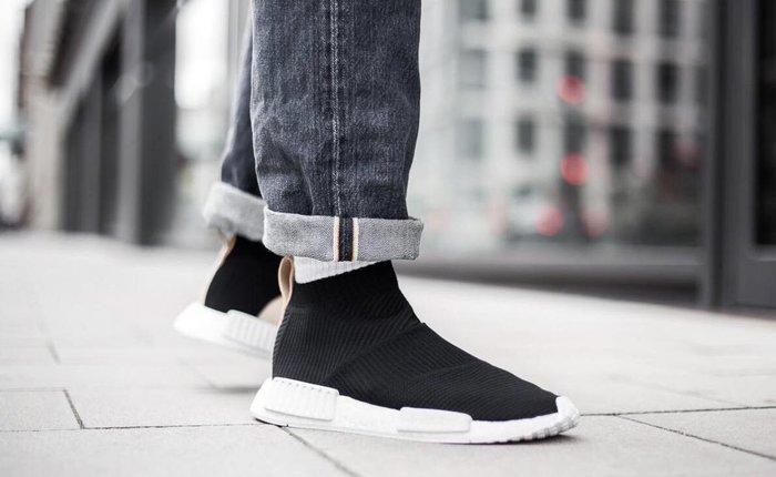 【Cheers】 adidas original NMD CS2 PK AQ0948 黑白 黑米 透氣 編織 慢跑鞋