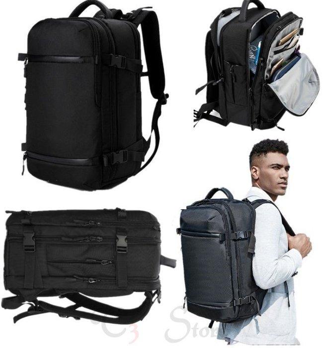 【T3】大款防水多功能大容量後背包 USB充電後背包 露營包 旅行包 防水包包 收納包【BO07】