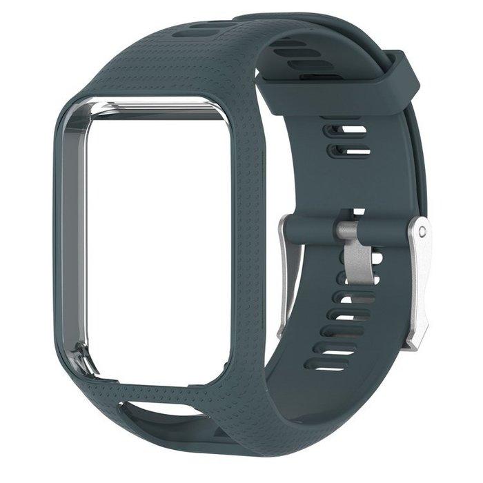 熱賣TomTom Spark 系列 Runner 2/3代 Golfer2 Adventurer 純色繽紛矽膠替換錶帶