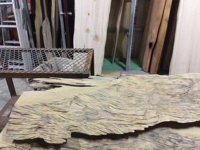 【 檜人檜語 】超風化 銀河系烏心石 原木板材5