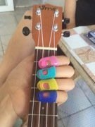 ~全新~左手吉他防痛指套/手指套/按弦止痛保護套 適用:吉他,烏克麗麗
